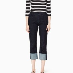 Kate Spade BROOME STREET Cuffed Jeans Size 26